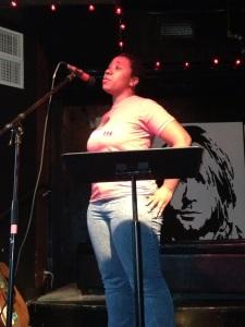 Stephanie open mic