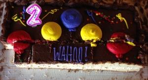2 2nd anniversary cake