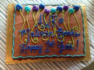 2 anniversary cake